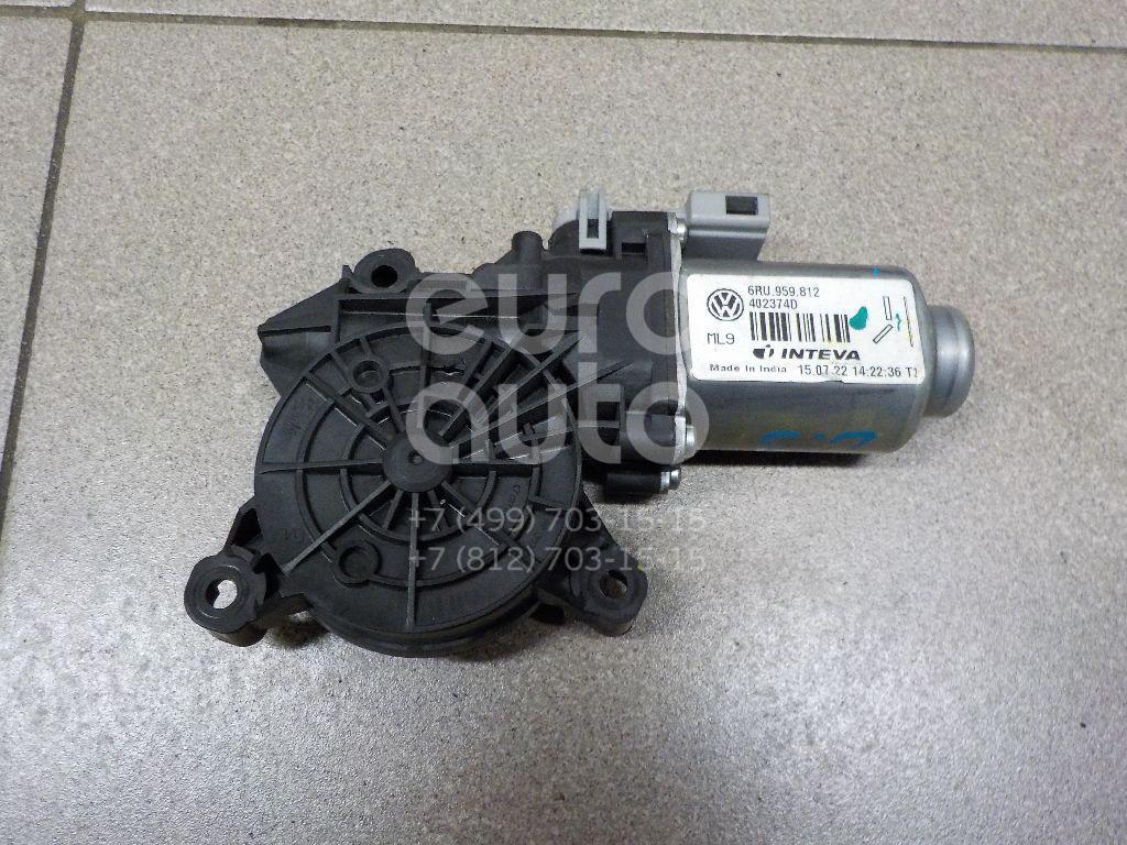 Купить Моторчик стеклоподъемника VW Polo (Sed RUS) 2011-; (6RU959812)