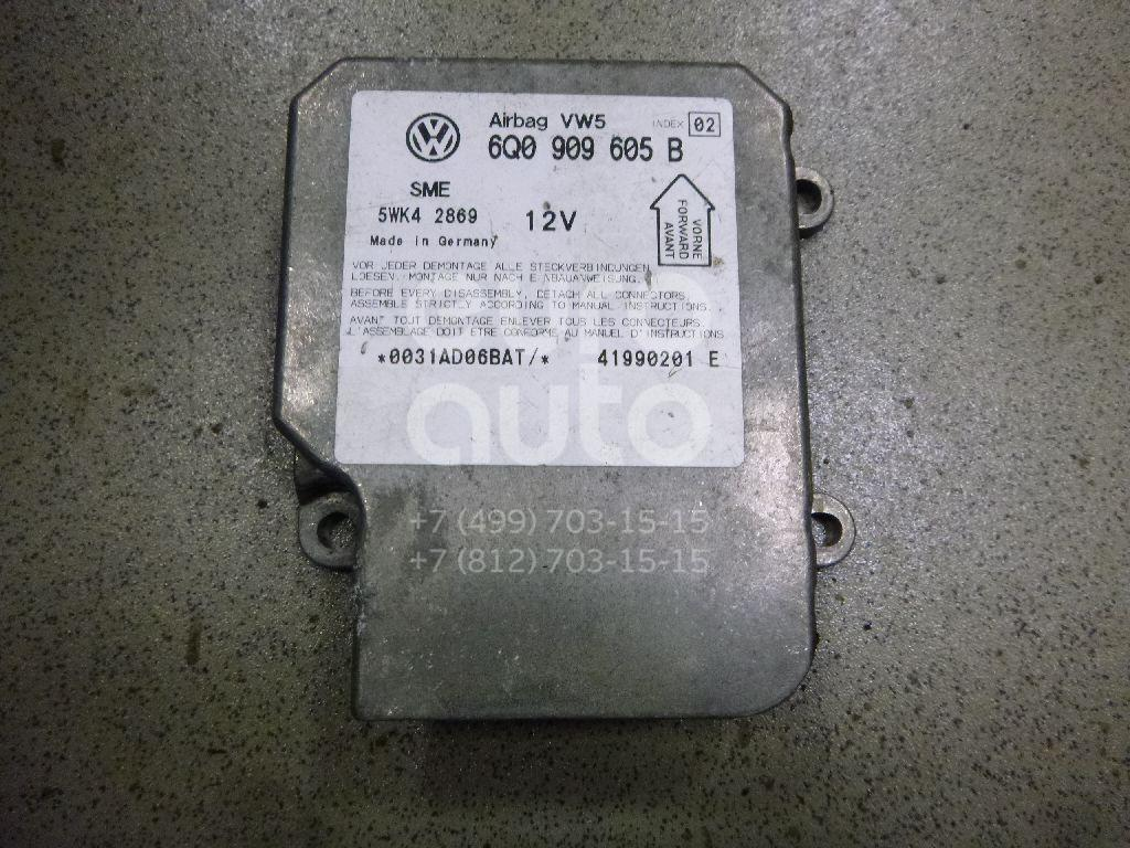 Купить Блок управления AIR BAG VW Passat [B5] 2000-2005; (6Q0909605B)
