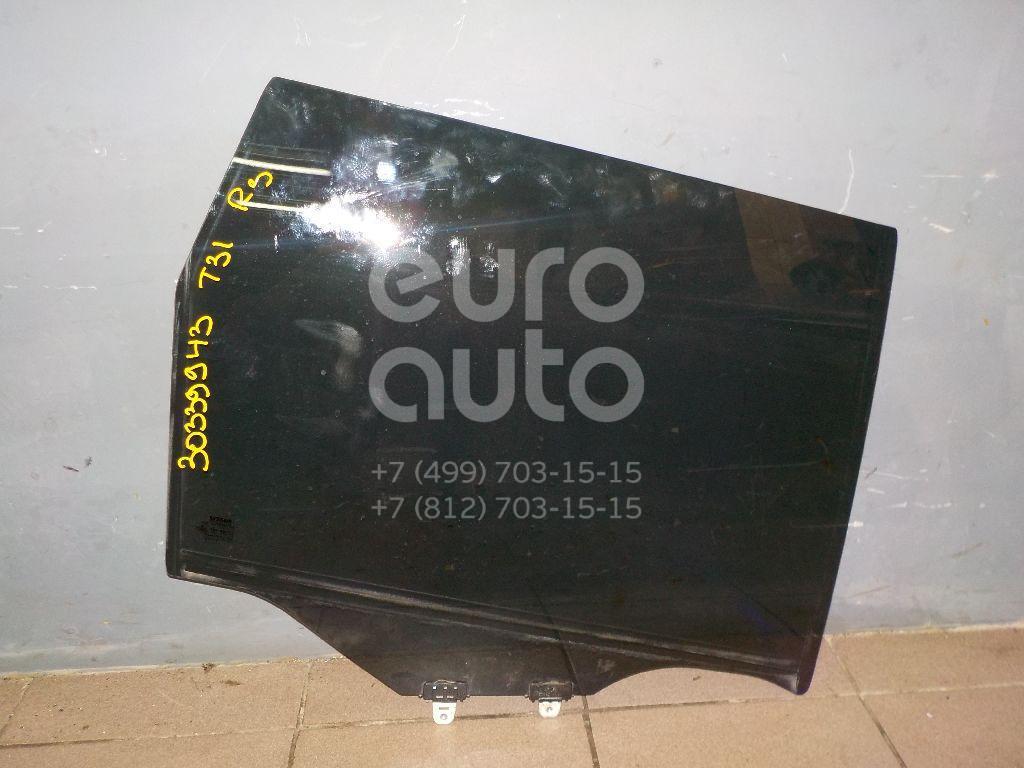 Купить Стекло двери задней правой Nissan X-Trail (T31) 2007-2014; (82300JG10E)