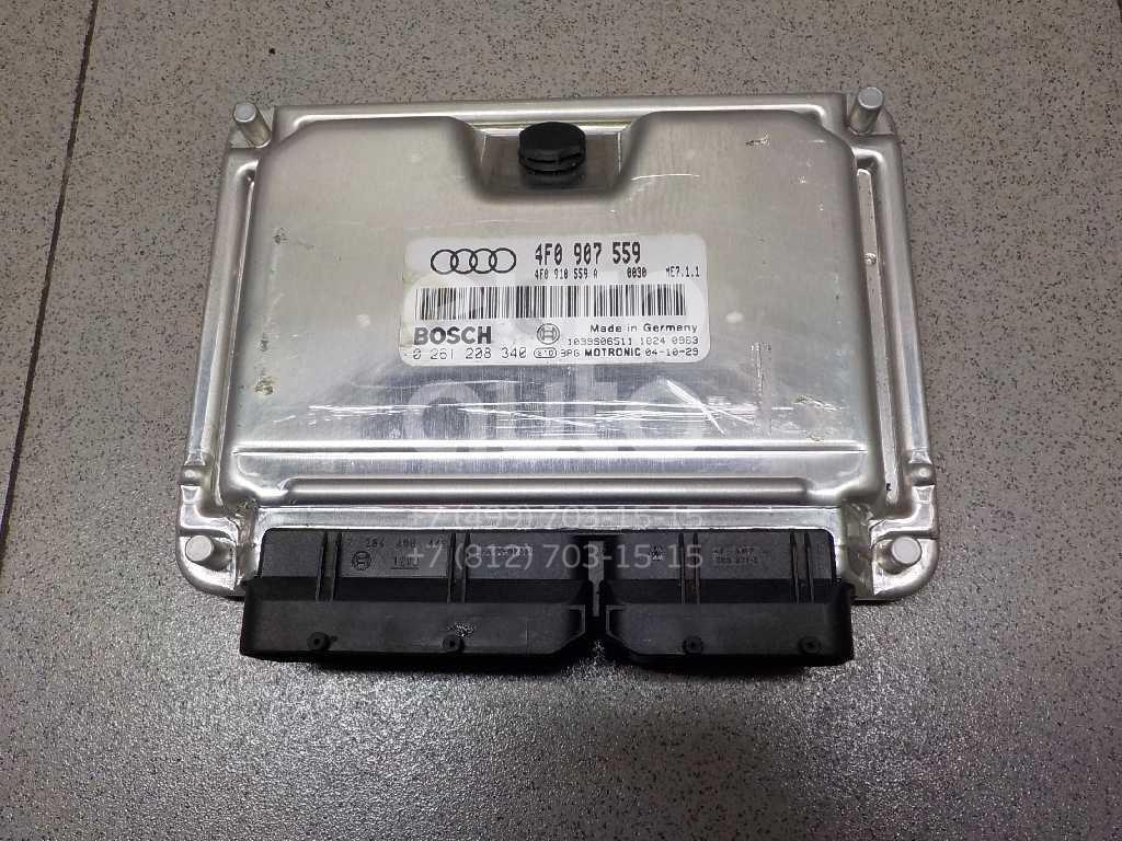 Купить Блок управления двигателем Audi A6 [C6, 4F] 2004-2011; (4F0907559)