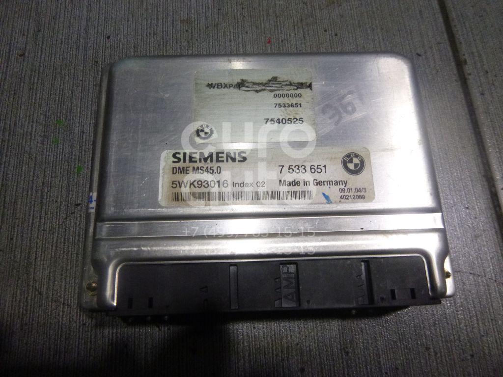 Купить Блок управления двигателем BMW X3 E83 2004-2010; (12147533651)