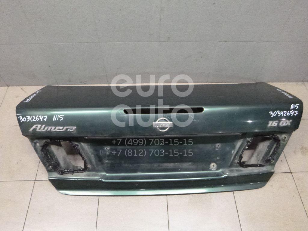 Купить Крышка багажника Nissan Almera N15 1995-2000; (843000N835)