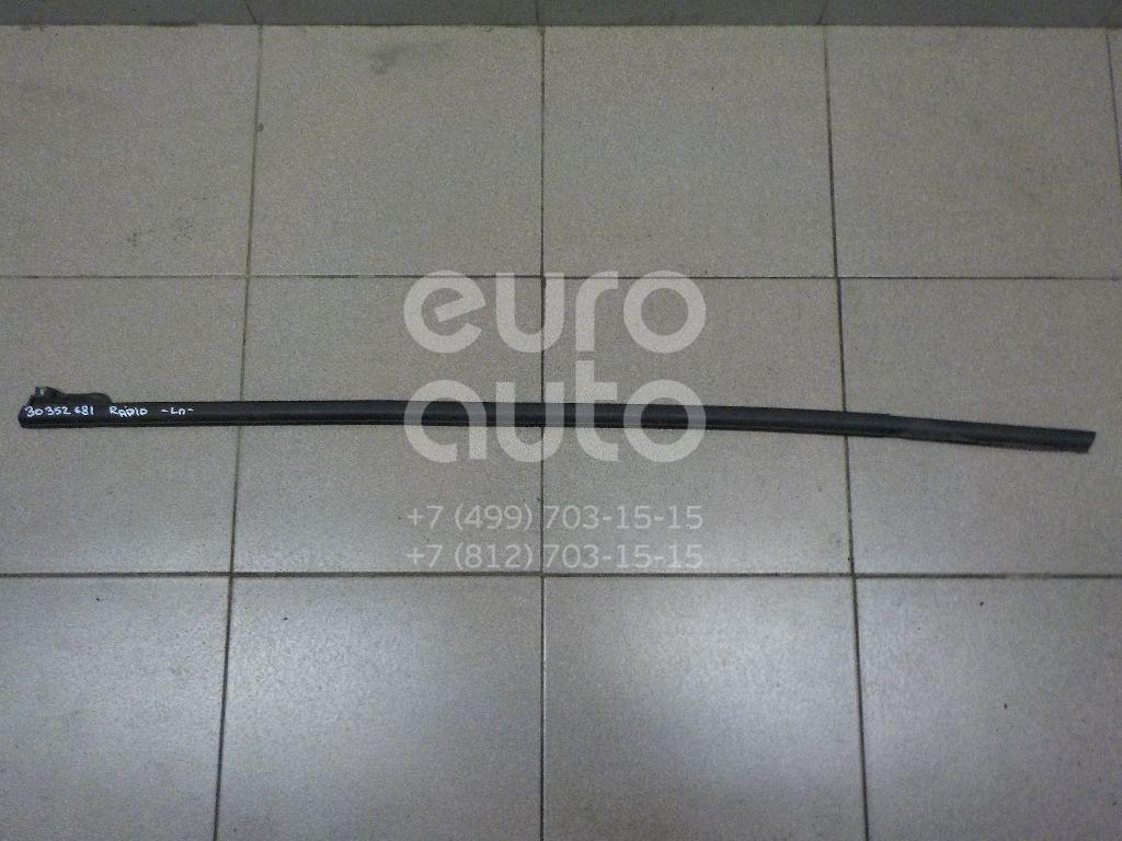 Накладка стекла переднего левого для Skoda,Seat Rapid 2013>;Toledo 2013> - Фото №1