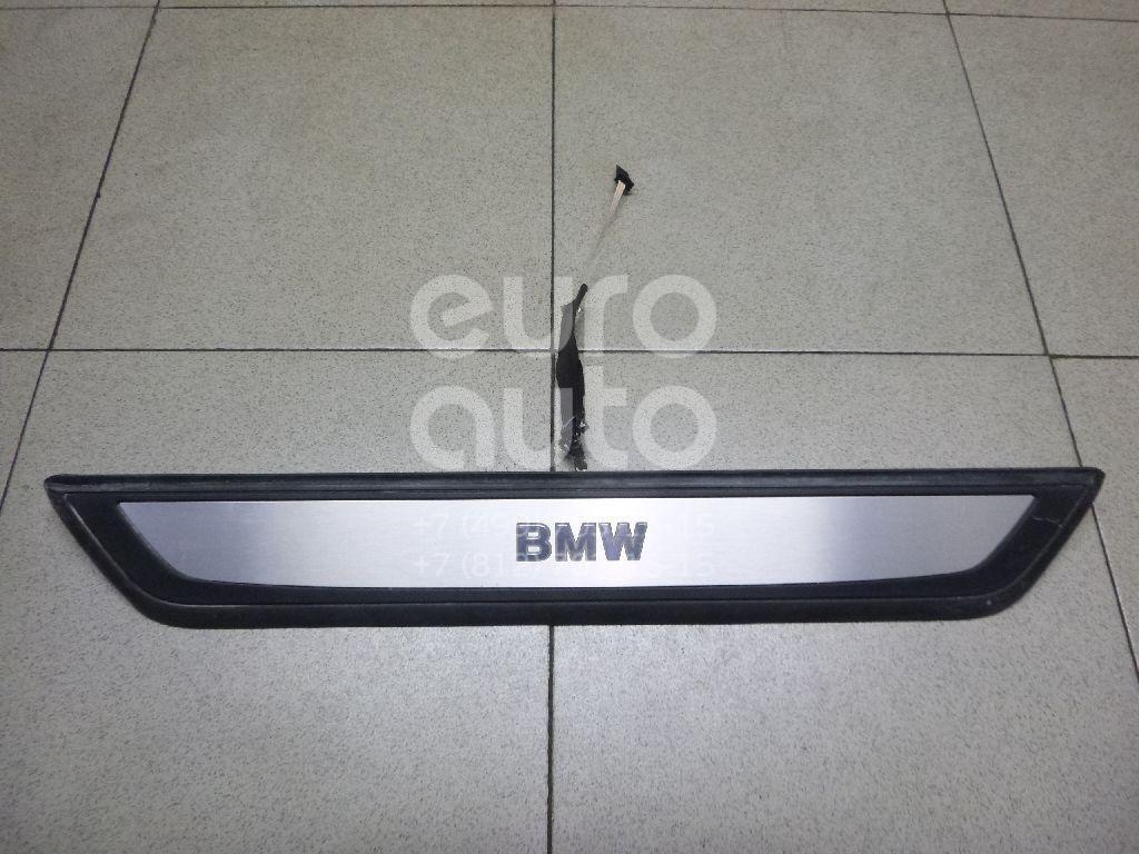 Накладка порога (внутренняя) для BMW 7-серия F01/F02 2008-2015 - Фото №1