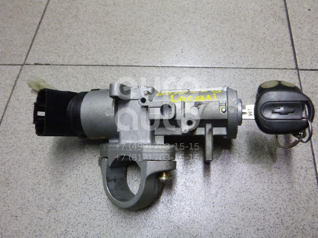 Замок зажигания для Chevrolet,Daewoo Lacetti 2003-2013;Aveo (T200) 2003-2008;Rezzo 2003-2010;Aveo (T250) 2005-2011;Gentra II 2013-2015 - Фото №1