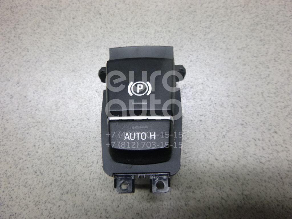 Кнопка фиксатора стояночного тормоза для BMW 7-серия F01/F02 2008-2015;5-серия GT F07 2009-2016 - Фото №1