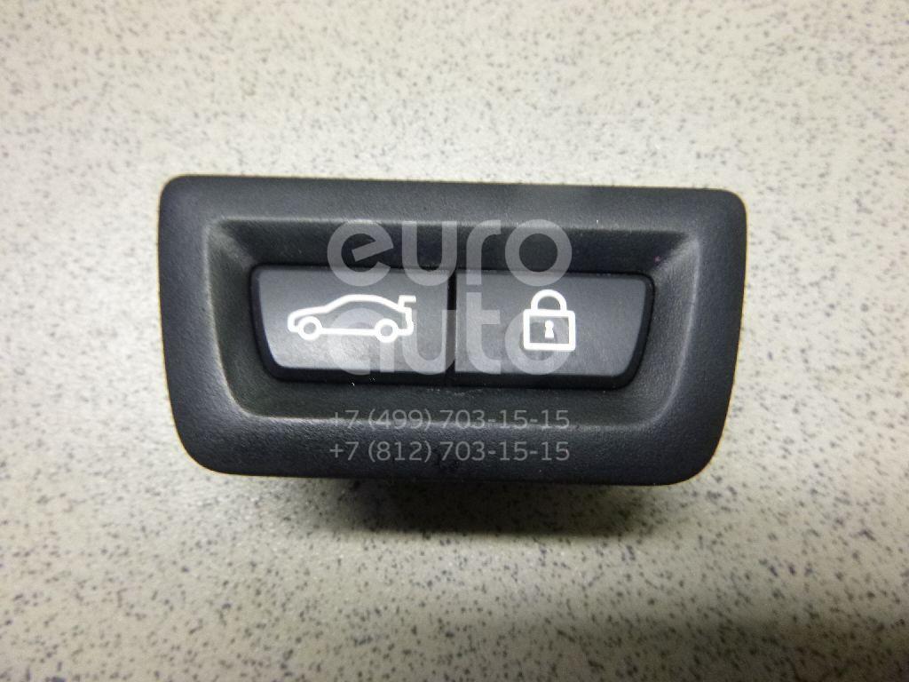Кнопка открывания багажника для BMW 7-серия F01/F02 2008-2015;5-серия F10/F11 2009>;GT F07 2008>;X3 F25 2010>;3-серия F30/F31 2011>;X5 F15 2013>;3-серия F34 GT 2012> - Фото №1