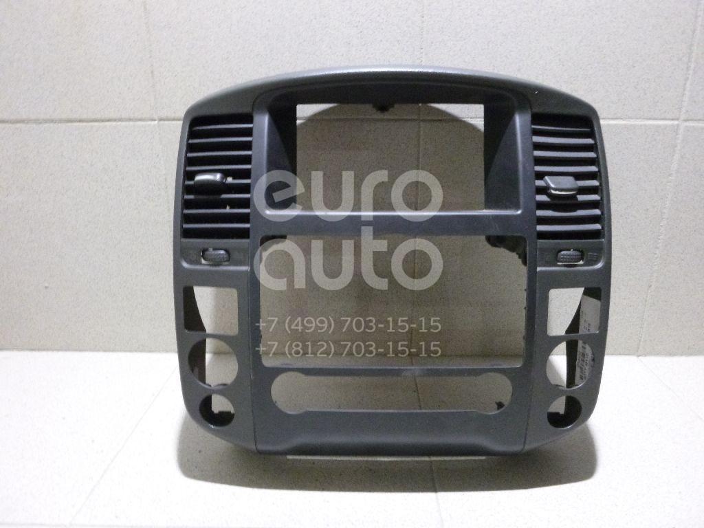 Рамка магнитолы для Nissan Pathfinder (R51M) 2004-2013 - Фото №1