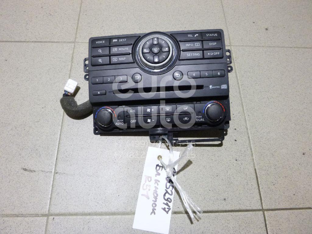 Блок кнопок для Nissan Pathfinder (R51M) 2004-2013 - Фото №1