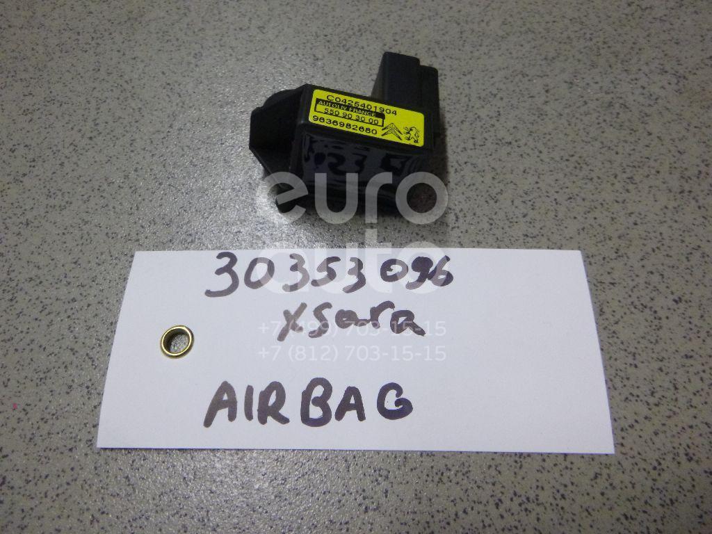 Датчик AIR BAG для Citroen,Peugeot Xsara 2000-2005;C5 2004-2008;407 2004-2010;406 1999-2004;206 1998-2012;Xsara Picasso 1999-2010;Berlingo(FIRST) (M59) 2002-2012;C6 2006-2012;Partner (M59) 2002-2012 - Фото №1