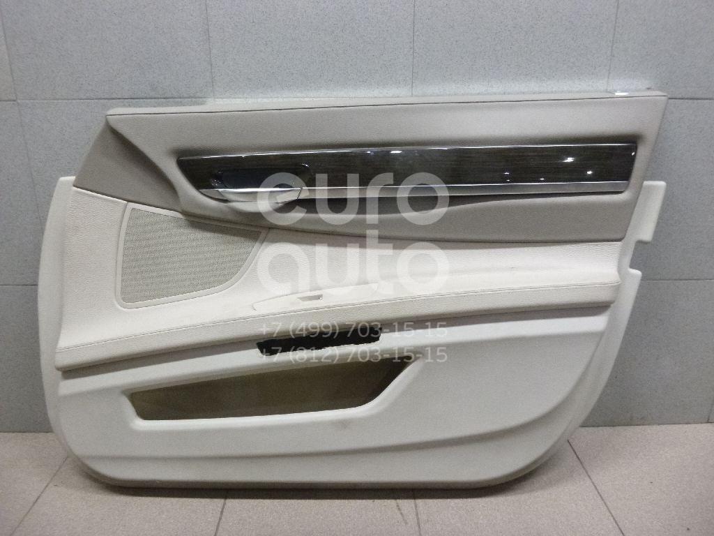 Обшивка двери передней правой для BMW 7-серия F01/F02 2008-2015 - Фото №1