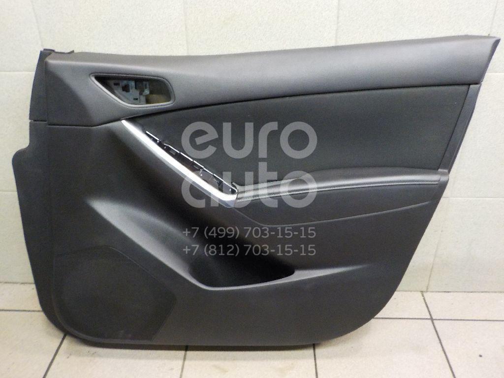 Обшивка двери передней левой для Mazda CX 5 2012> - Фото №1