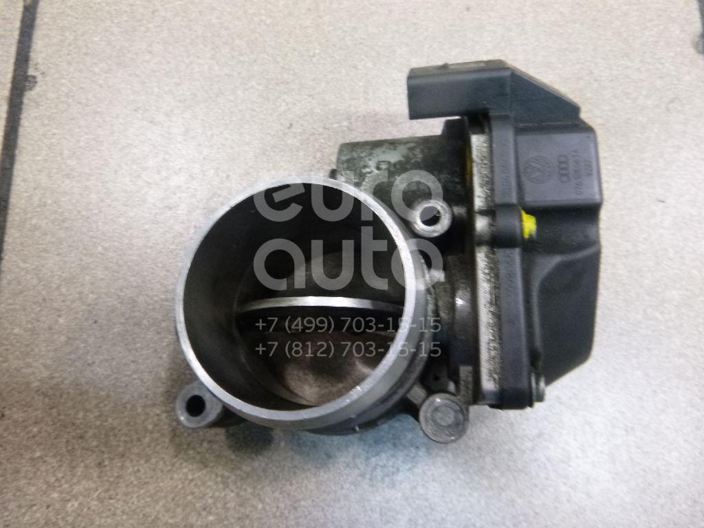 Заслонка дроссельная электрическая для VW Crafter 2006>;Touareg 2002-2010;Transporter T5 2003> - Фото №1