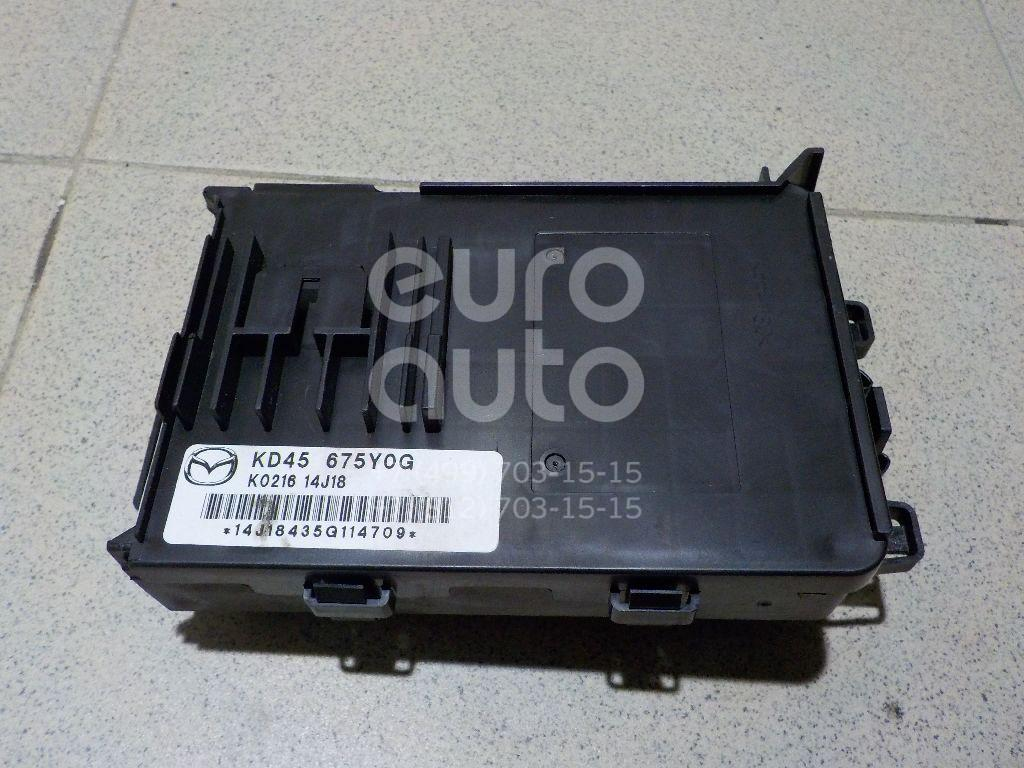 Блок электронный для Mazda CX 5 2012>;Mazda 6 (GJ) 2013>;Mazda 3 (BM) 2013> - Фото №1