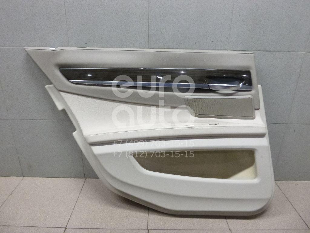Обшивка двери задней левой для BMW 7-серия F01/F02 2008-2015 - Фото №1