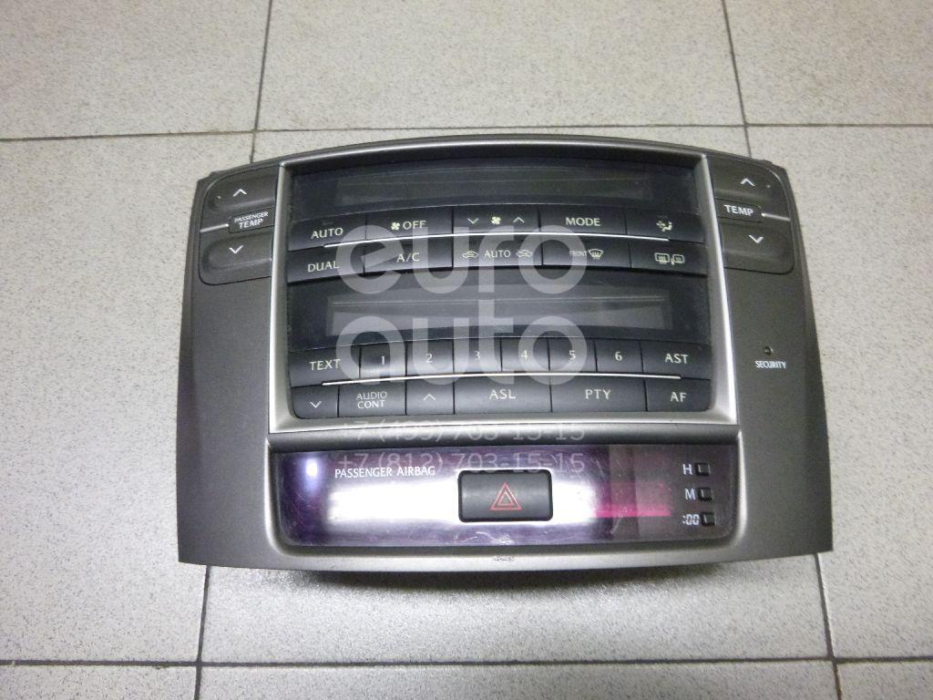 Блок управления климатической установкой для Lexus IS 250/350 2005-2013 - Фото №1