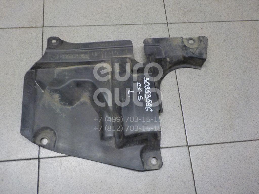 Пыльник двигателя боковой левый для Mazda CX 5 2012>;Mazda 6 (GJ) 2013> - Фото №1