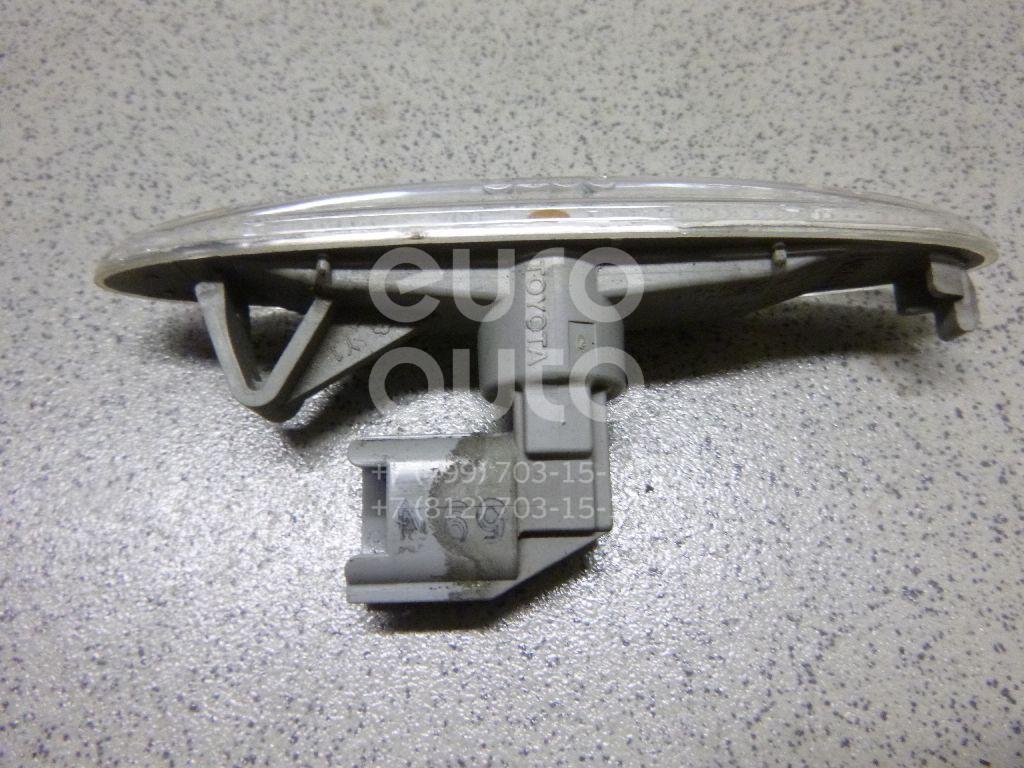 Повторитель на крыло белый для Lexus,Toyota IS 250/350 2005-2013;Camry V40 2006-2011;GS 300/400/430 2005-2011;Highlander II 2007-2013;SC430 2001-2010 - Фото №1
