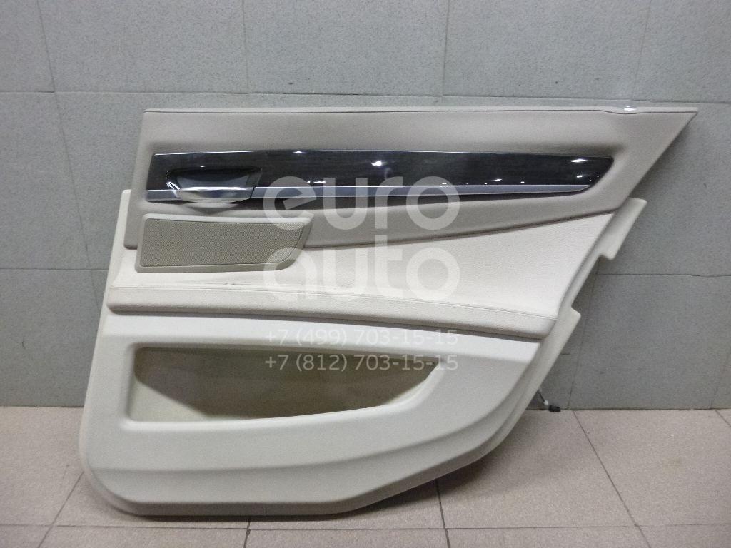 Обшивка двери задней правой для BMW 7-серия F01/F02 2008-2015 - Фото №1