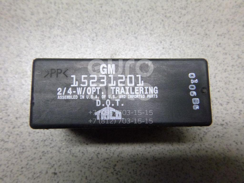 Реле поворотов для Chevrolet Trail Blazer 2001-2012 - Фото №1