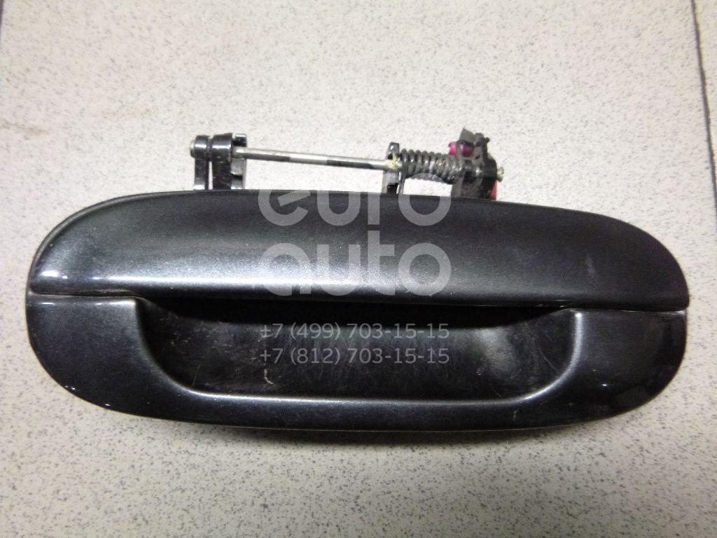 Ручка двери задней наружная левая для Chevrolet Trail Blazer 2001-2012 - Фото №1