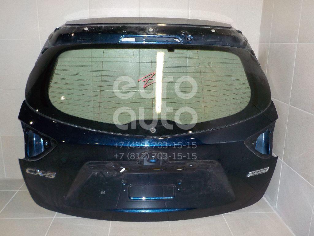 Дверь багажника со стеклом для Mazda CX 5 2012> - Фото №1