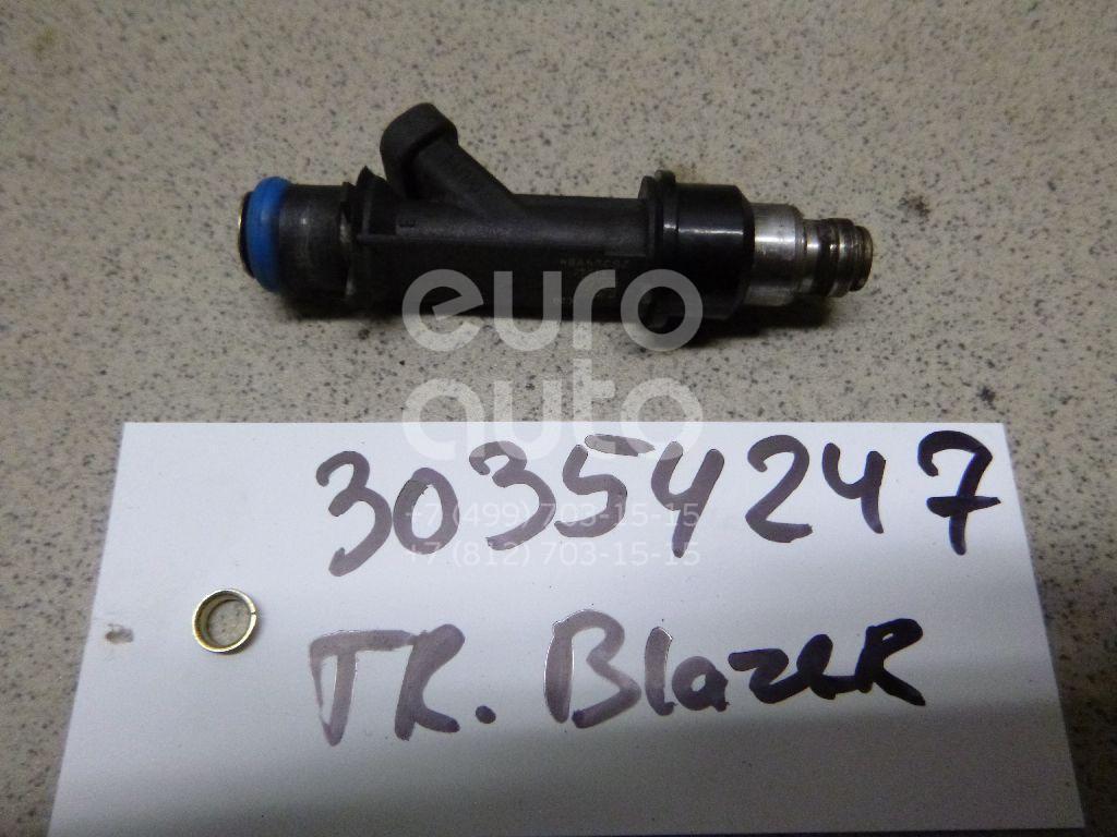 Форсунка инжекторная электрическая для Chevrolet Trail Blazer 2001-2010 - Фото №1