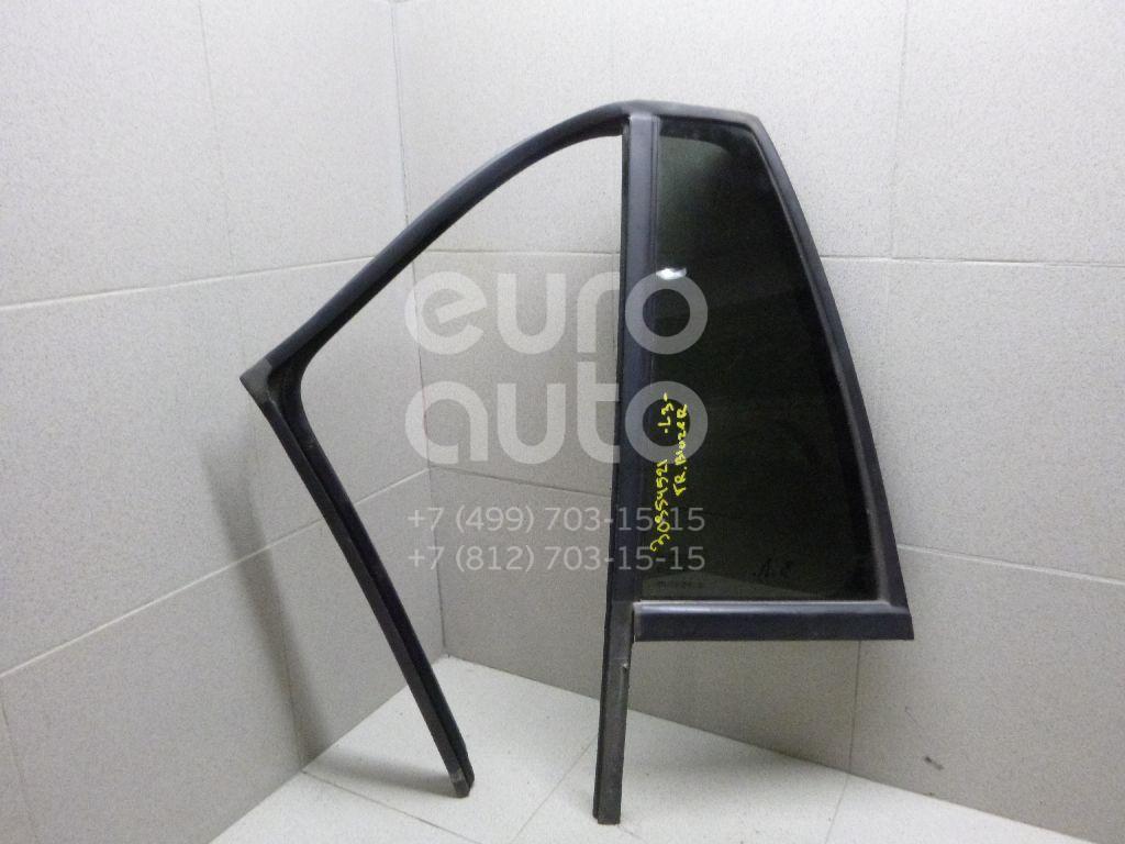 Стекло двери задней левой (форточка) для Chevrolet Trail Blazer 2001-2012 - Фото №1