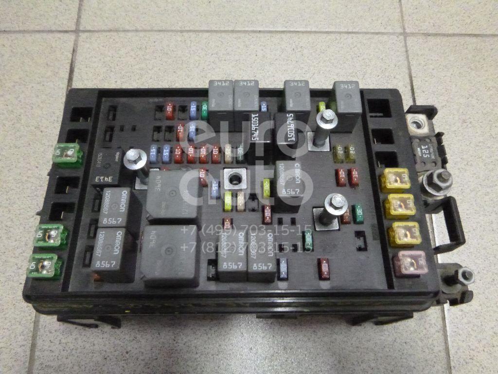 Блок предохранителей для Chevrolet Trail Blazer 2001-2010 - Фото №1