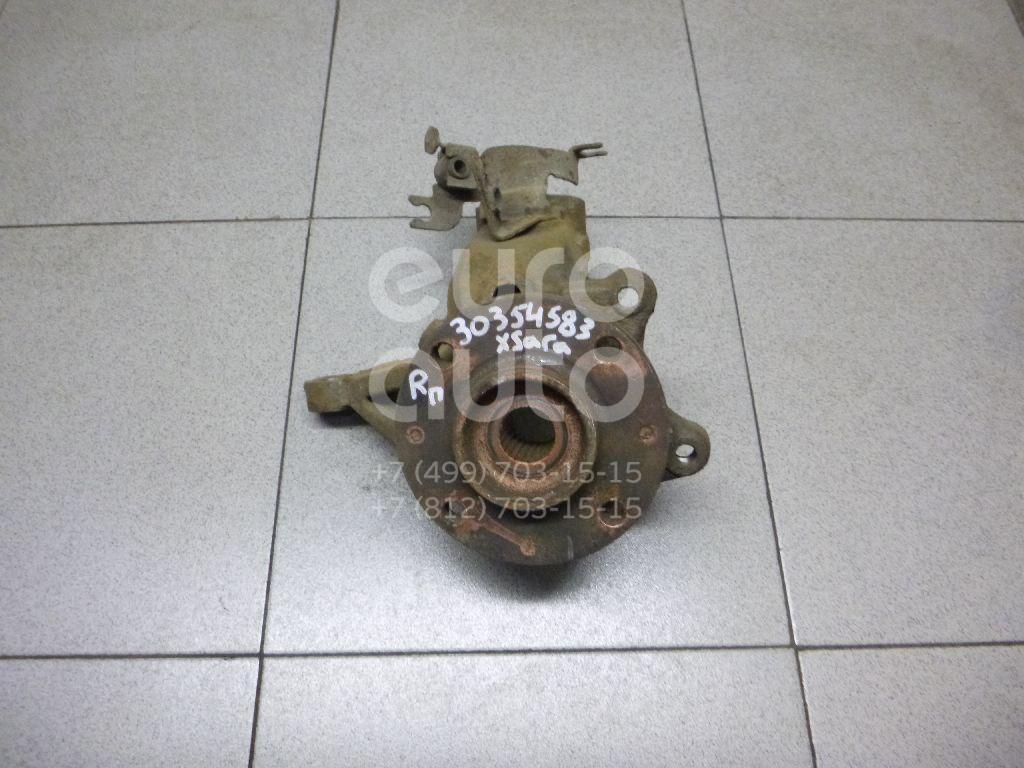 Кулак поворотный передний правый для Peugeot Xsara 2000-2005;Xsara Picasso 1999>;Berlingo(FIRST) (M59) 2002-2010;Partner (M59) 2002-2010 - Фото №1
