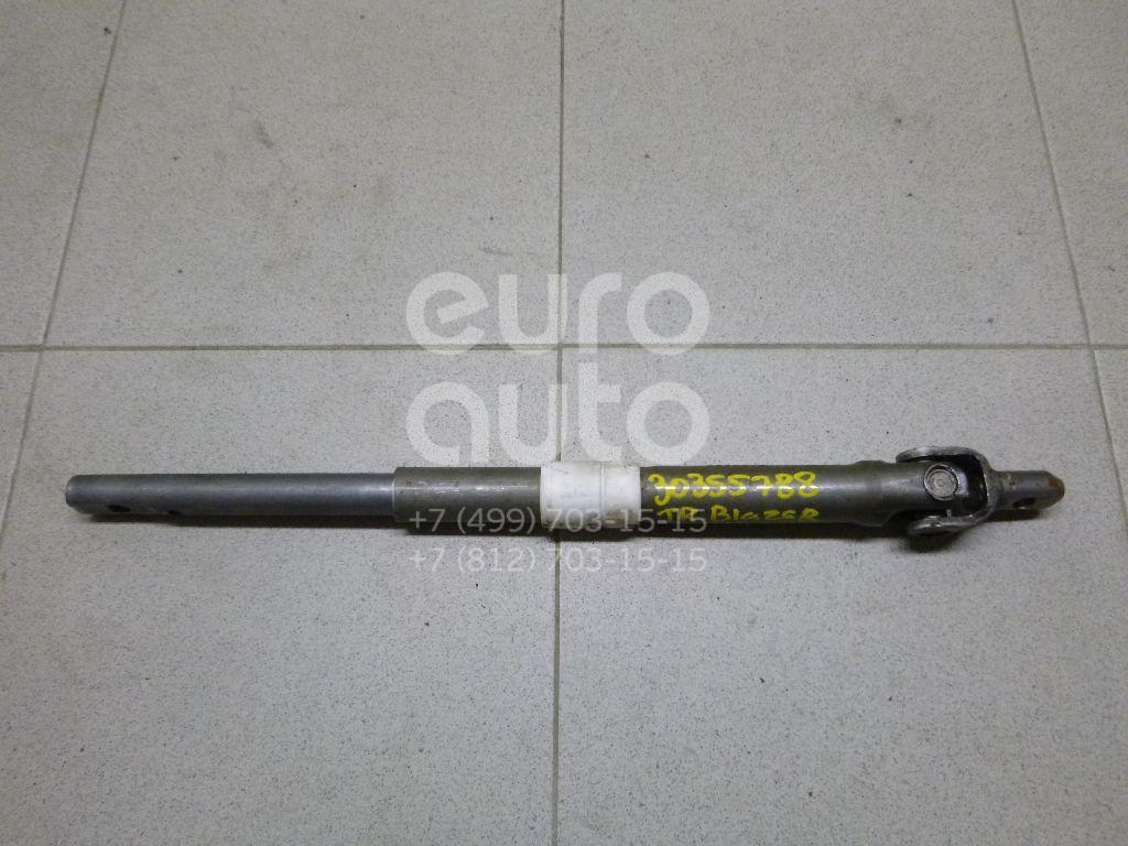 Кардан рулевой для Chevrolet Trail Blazer 2001-2010 - Фото №1