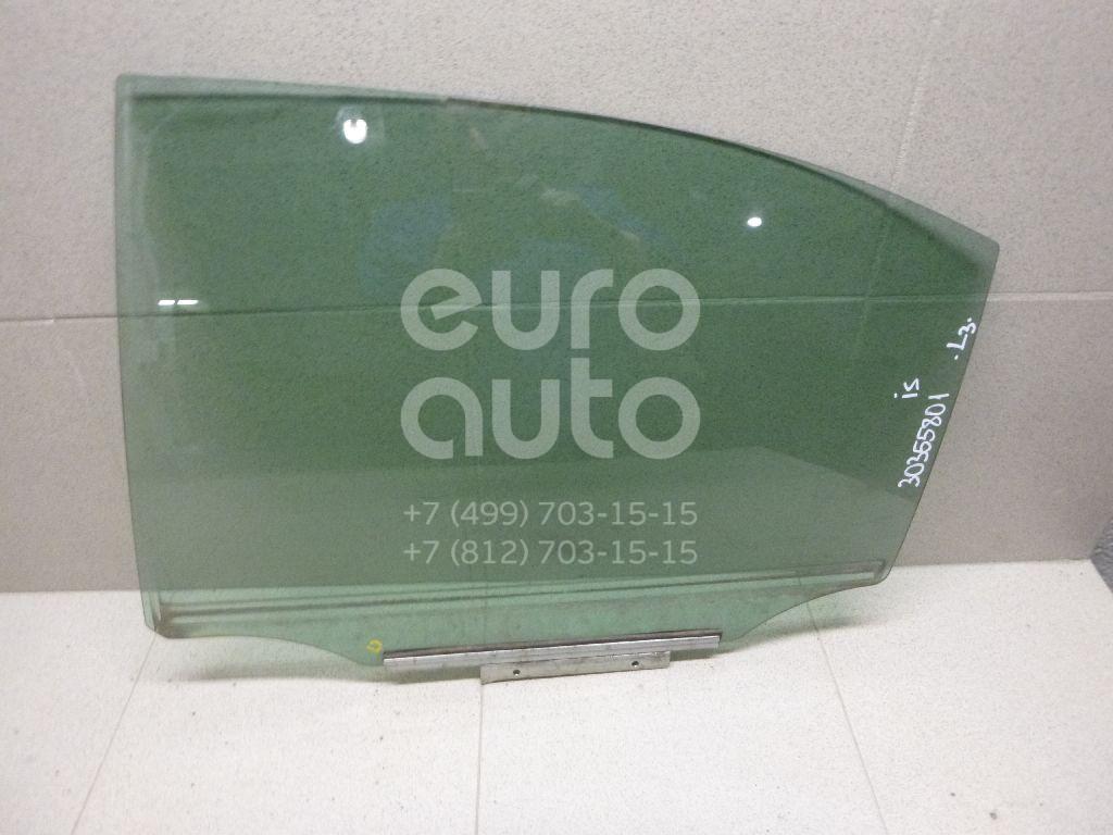 Стекло двери задней левой для Lexus IS 250/350 2005-2013 - Фото №1