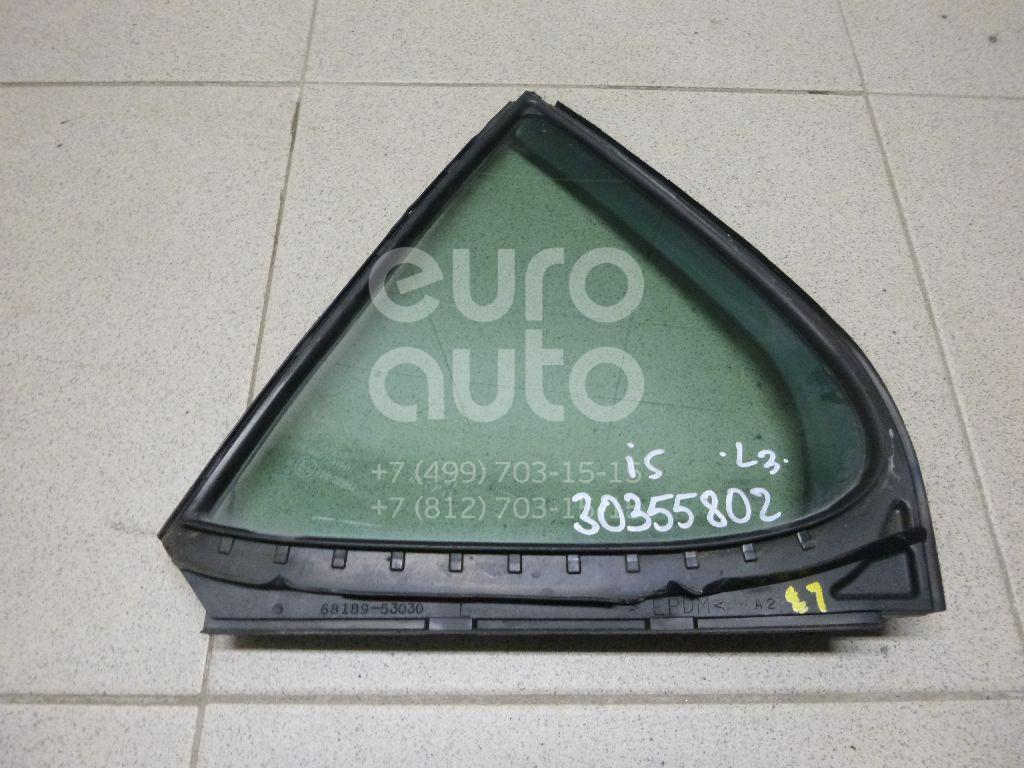 Стекло двери задней левой (форточка) для Lexus IS 250/350 2005-2013 - Фото №1