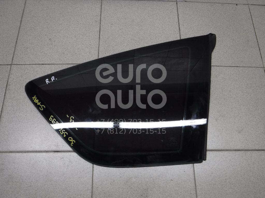 Стекло кузовное глухое правое Ford S-MAX 2006-2015; (1377438)  - купить со скидкой