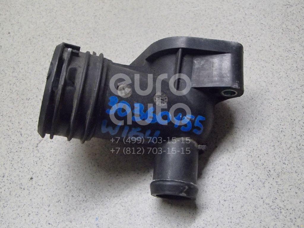 Купить Фланец двигателя системы охлаждения Mercedes Benz W164 M-Klasse (ML) 2005-2011; (6422001156)