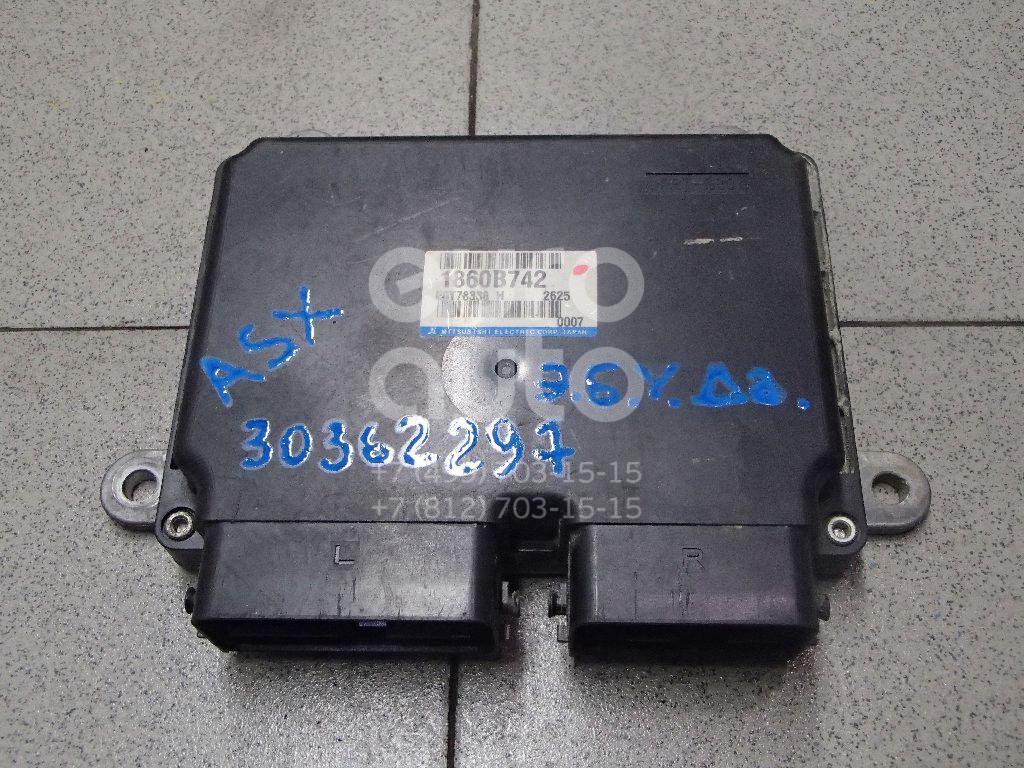 Купить Блок управления двигателем Mitsubishi ASX 2010-2016; (1860B742)