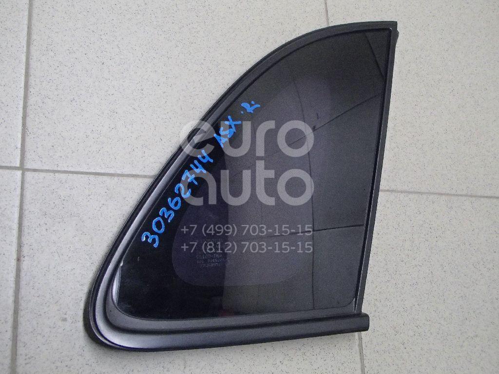 Купить Стекло кузовное глухое правое Mitsubishi ASX 2010-2016; (6121A486)
