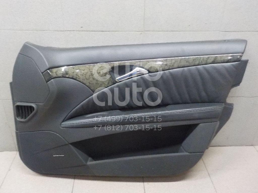 Купить Обшивка двери передней правой Mercedes Benz W211 E-Klasse 2002-2009; (21172074638M60)