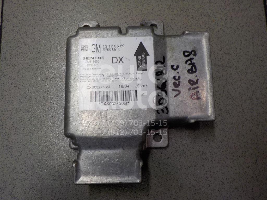 Купить Блок управления AIR BAG Opel Vectra C 2002-2008; (13170589)