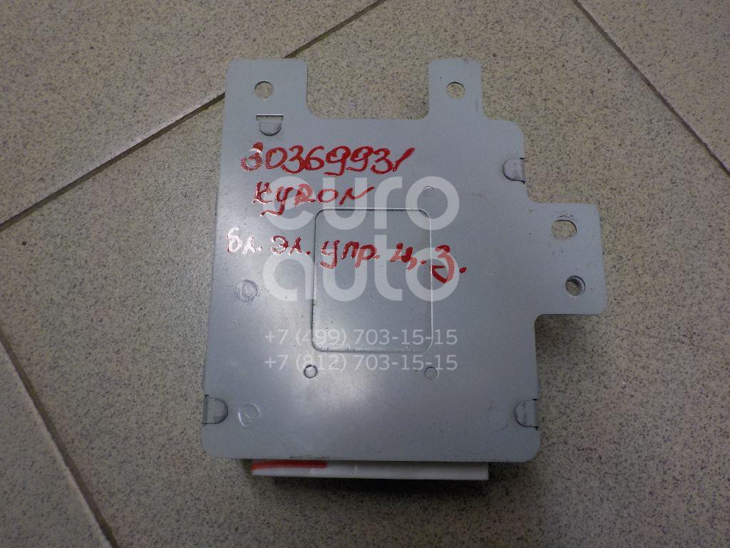Купить Блок электронный Ssang Yong Kyron 2005-2015; (8712009200)