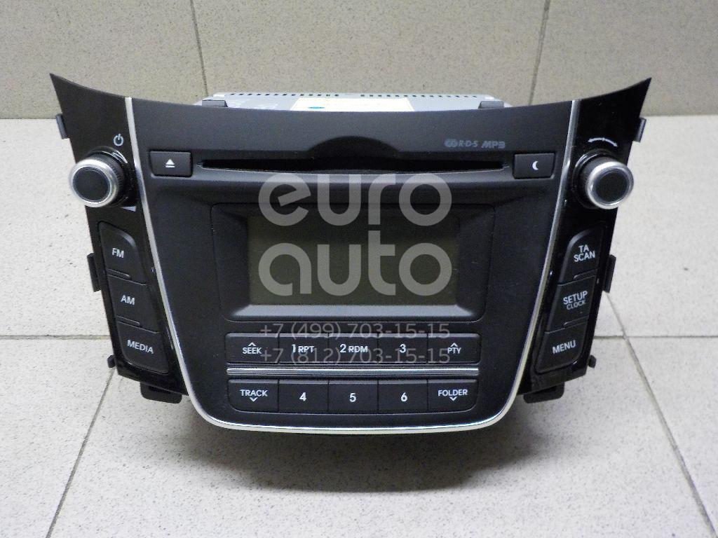 Купить Магнитола Hyundai i30 2012-; (96170A6200GU)