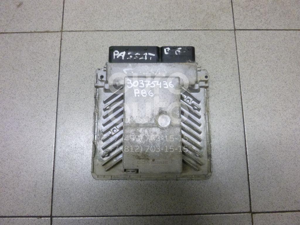 Купить Блок управления двигателем VW Passat [B6] 2005-2010; (03G906018CK)