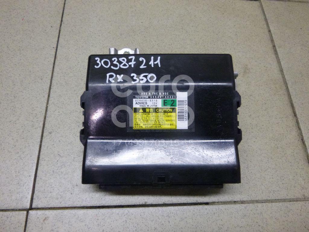 Купить Блок электронный Lexus RX 350/450H 2009-2015; (8954048421)
