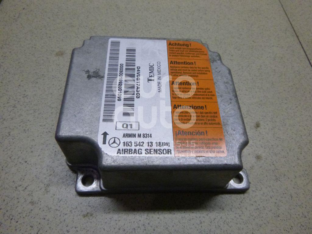 Купить Блок управления AIR BAG Mercedes Benz W163 M-Klasse (ML) 1998-2004; (1635421318)
