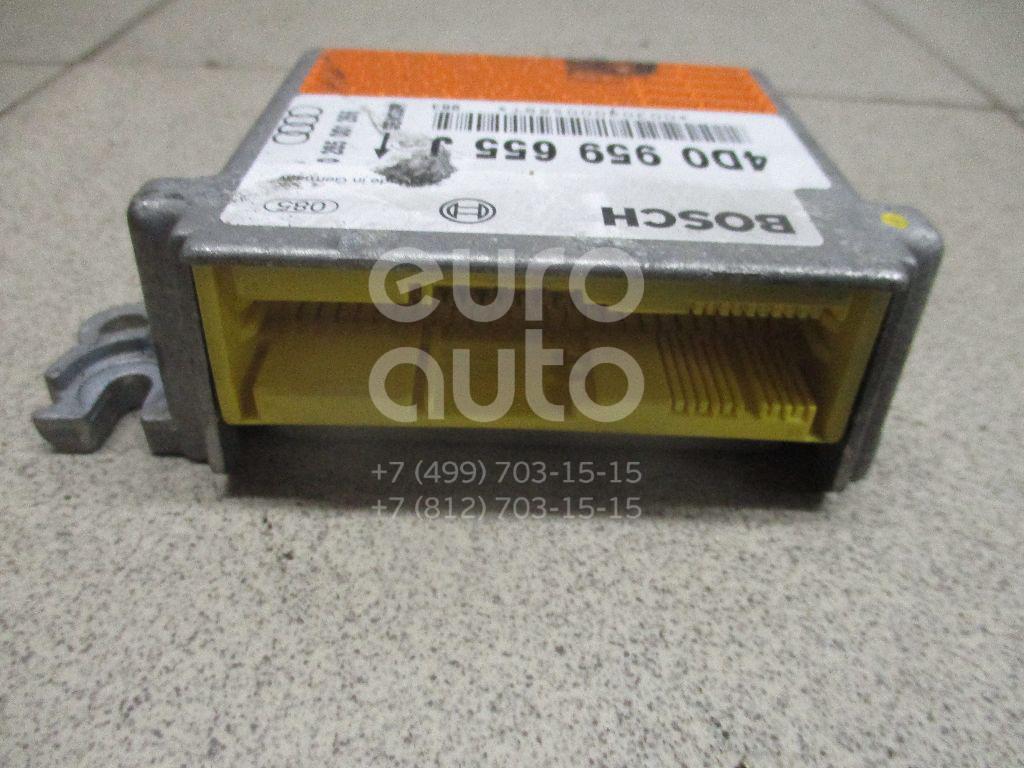 Купить Блок управления AIR BAG Audi A8 [4D] 1999-2002; (4D0959655J)