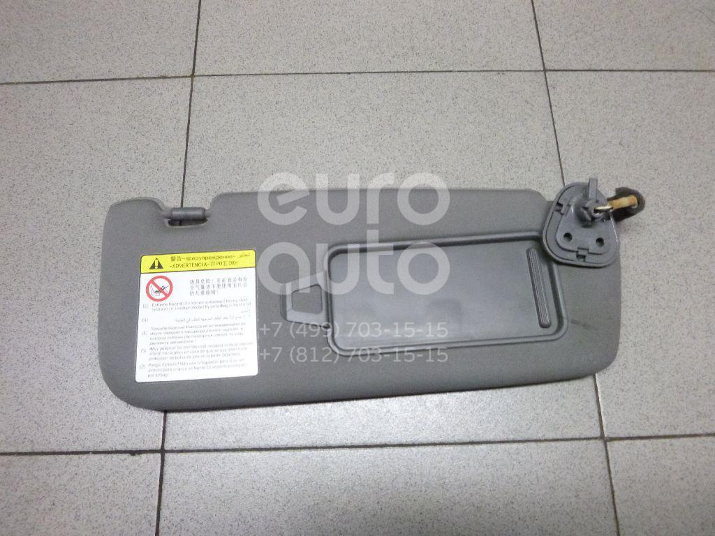 Купить Козырек солнцезащитный (внутри) Geely EMGRAND EC7 2008-; (1068001055)