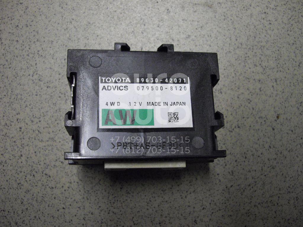 Купить Блок электронный Toyota RAV 4 2013-; (8963042071)