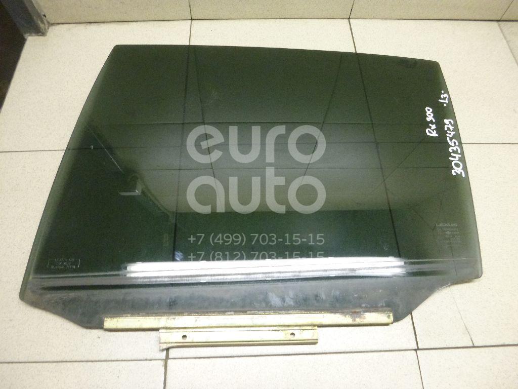 Стекло двери задней левой Lexus RX 300/330/350/400h 2003-2009; (6810448110)  - купить со скидкой