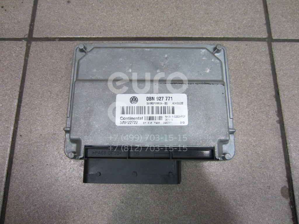Купить Блок электронный VW Touareg 2010-; (0BN927771)