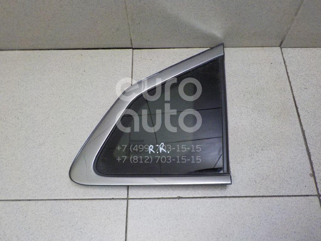 Купить Стекло кузовное глухое правое Nissan Qashqai (J11) 2014-; (833124EA1A)